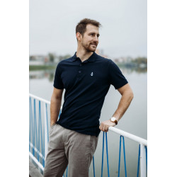 BLUE NAVY POLO